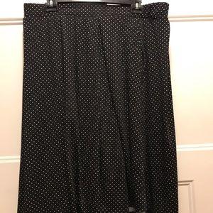 Lularoe 2xl Madison skirt